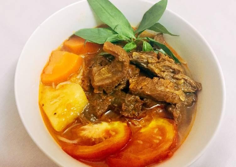 Cách Làm Món Bún Bò rau răm Phan Thiết của Minh Yến - Cookpad