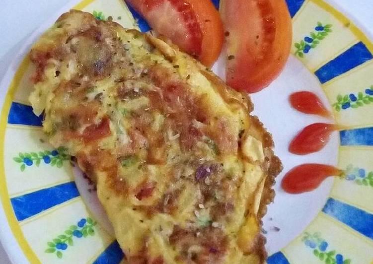 Resep Omelet simple untuk balita Bikin Jadi Laper