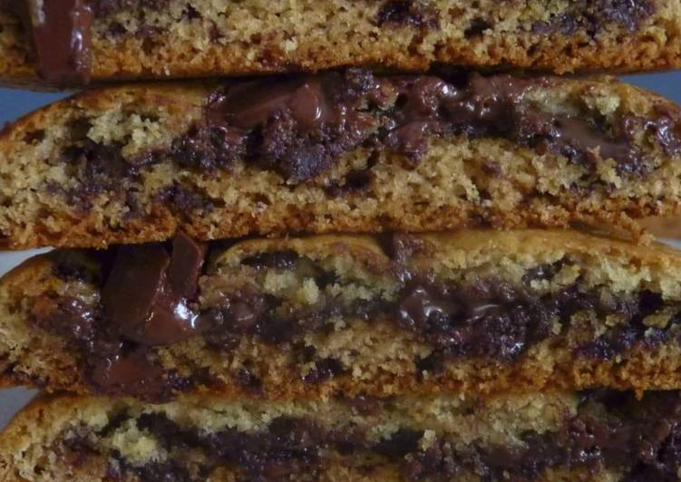 Cookies vegan à la pâte à tartiner
