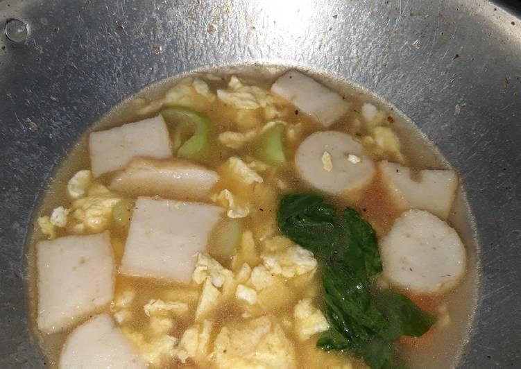 Sup telur sehat