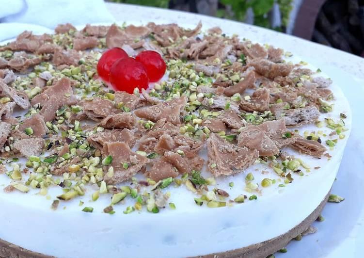 Cheesecake cannolo siciliano