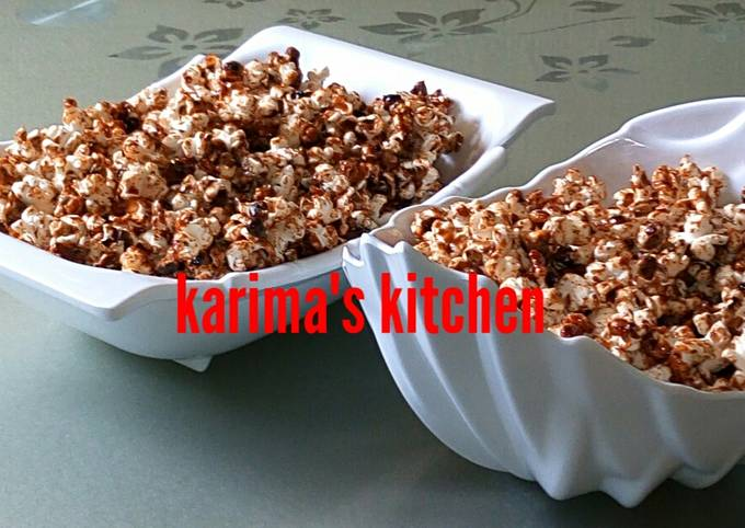 How to Make Delicious Caramel popcorn