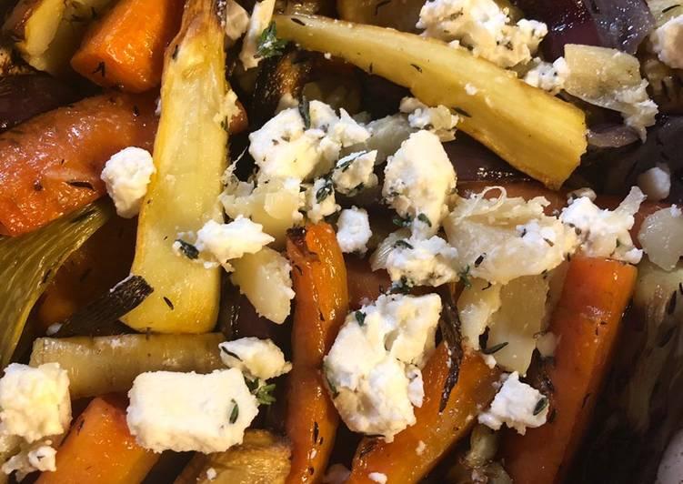 Simple Way to Prepare Top-Rated Roast root vegetables