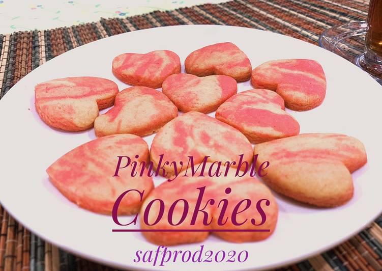 pinky-marble-cookies