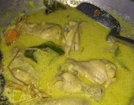 Opor Ayam simple dan mudah - Ayam Santan - Opor Lebaran