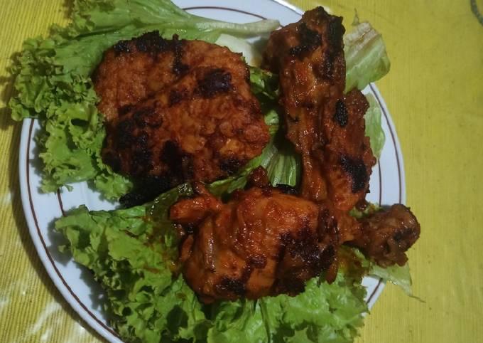 Ayam bakar taliwang teflon