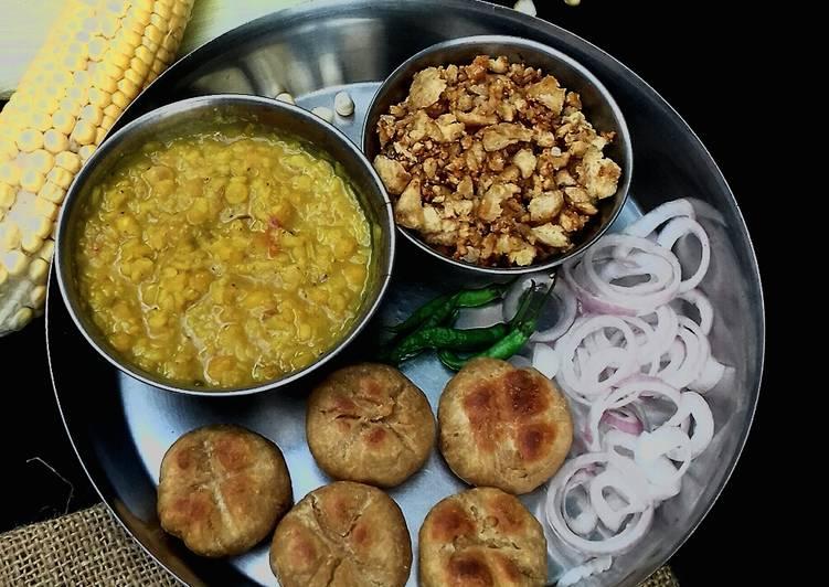 Recipe of Super Quick Homemade Dal bati churma