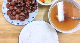 Hình ảnh món Bún chả Hà Nội (Nồi chiên không dầu)