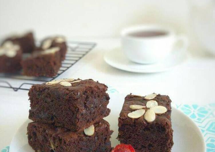 Brownies Pisang (#postingrame2_pisang)
