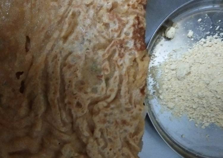 5 Minute How to Make Vegan M's Chup chup healthy dosa