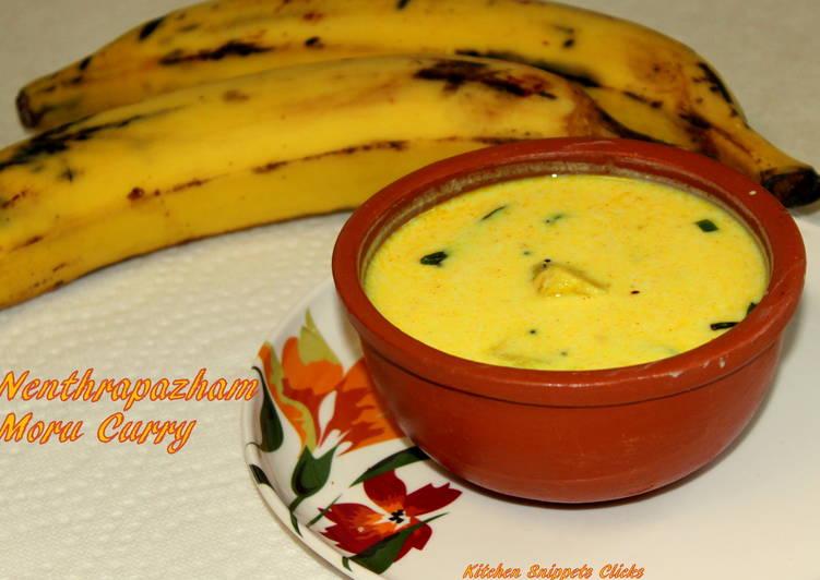 Nenthrapazham Moru Curry
