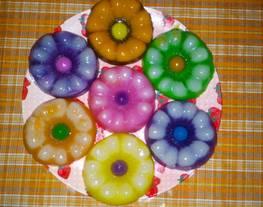 Kue lapis tepung beras (lapis bunga)