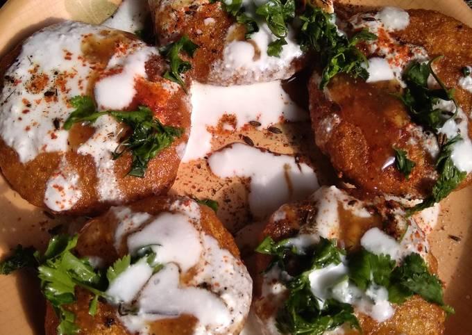 Spicy aaloo tikki