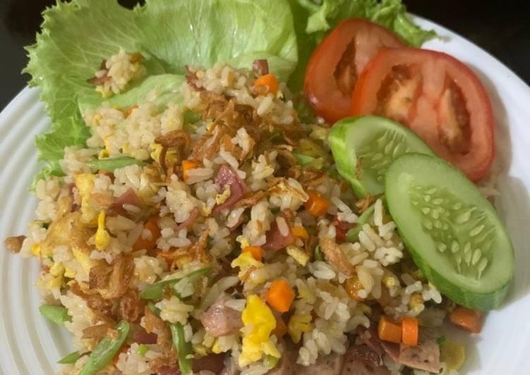 Resep Nasi goreng sehat Terbaik