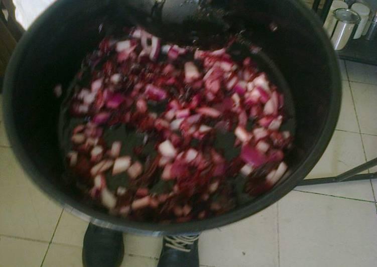 recetas de ensaladas con flor de jamaica
