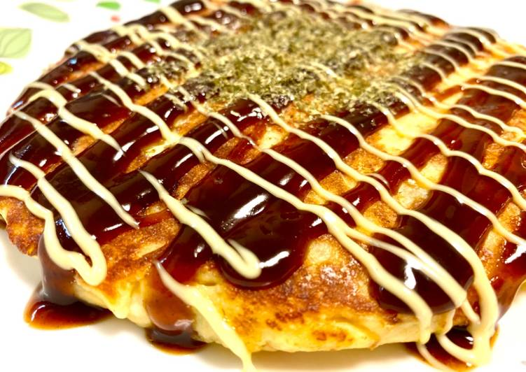 Recipe of Award-winning Healthy Okonomiyaki