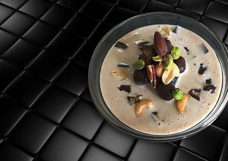 Resep Basundi With Chocolate Boba Oleh Bola Deli Cookpad