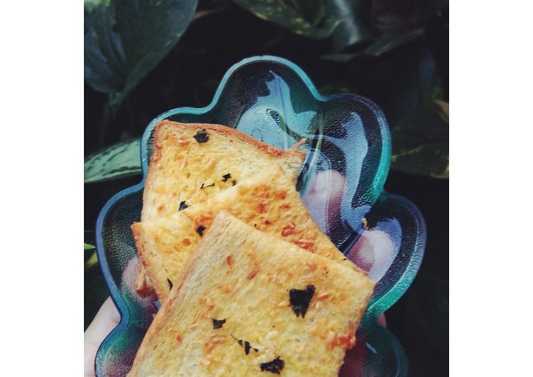 Resep Garlic bread ala-ala,, simple #bikinramadanberkesan Paling dicari