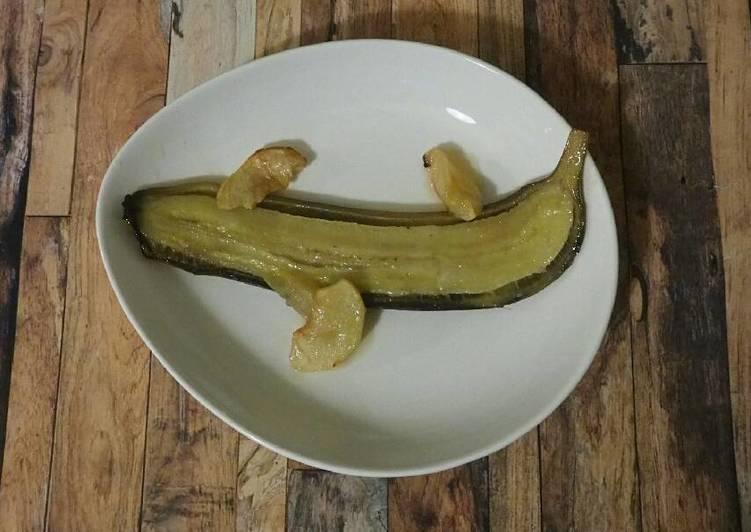 Recette Savoureux Bananes au four