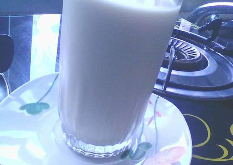 Recipe of Ultimate Simple Tigernut milk drink