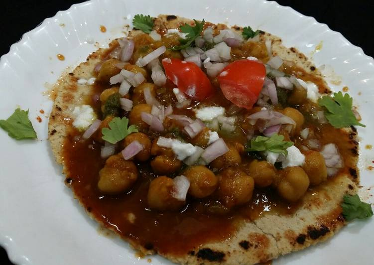Absolutely Ultimate Dinner Ideas Quick Ragda Chaat on Oats
