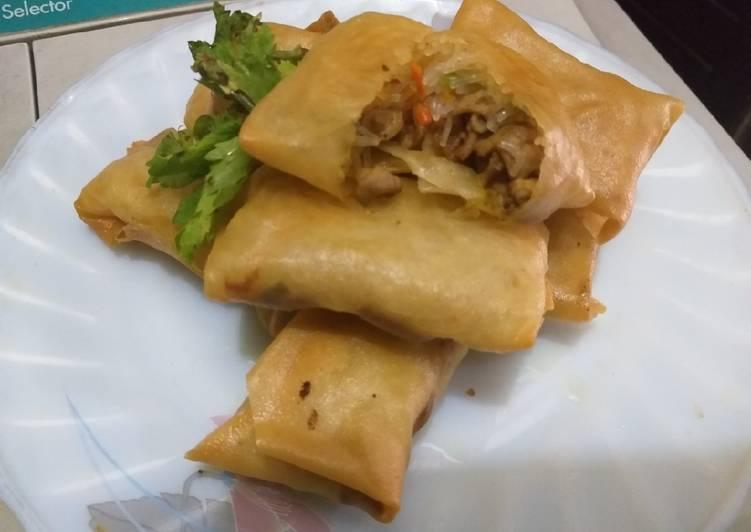 Martabak Bihun Surabaya Varian Usus Ayam