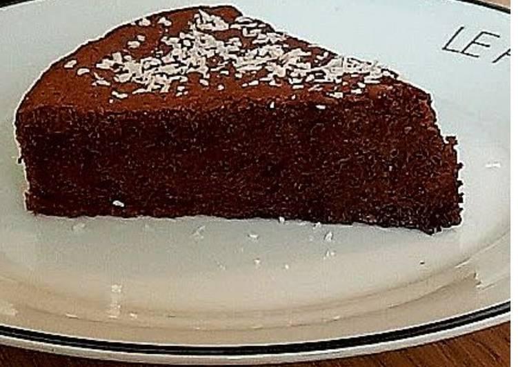 Moelleux au chocolat noir sans farine