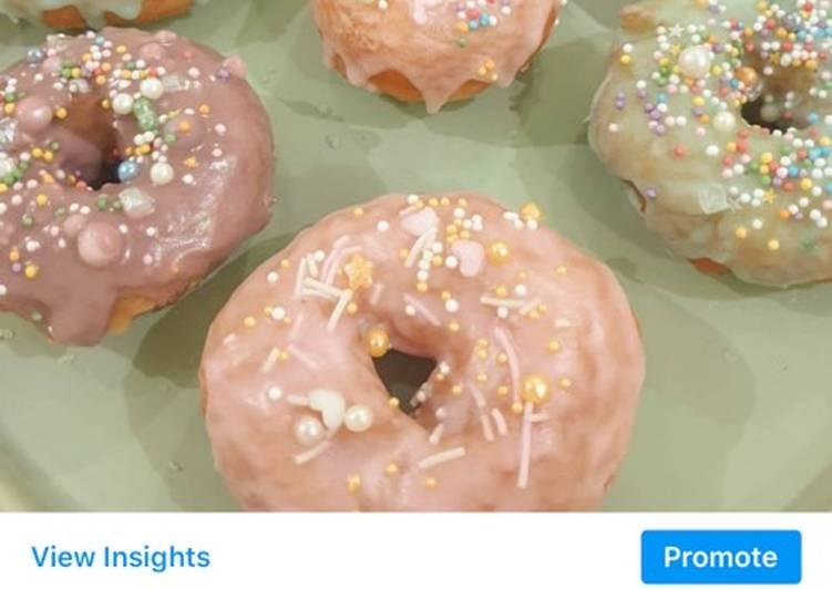 Glazed Doughnuts ; Donat Kentang Antigagal