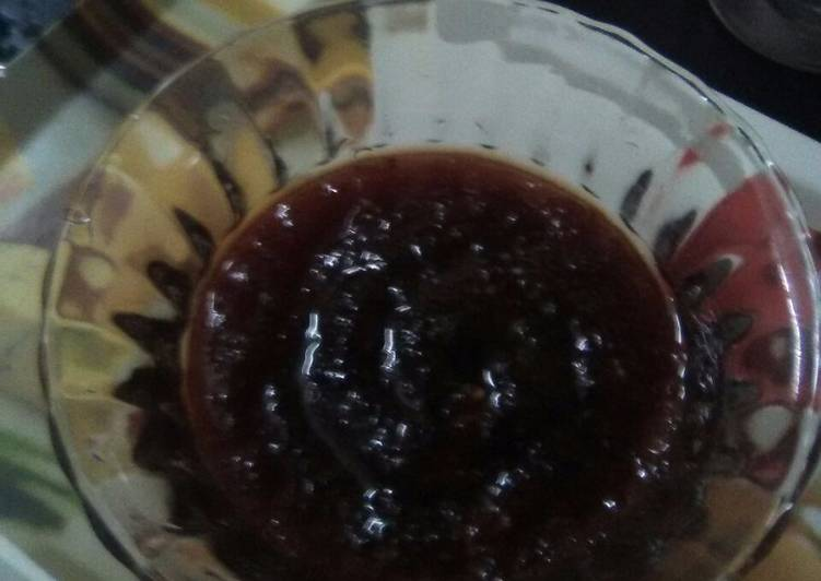 Apple jam (home made)