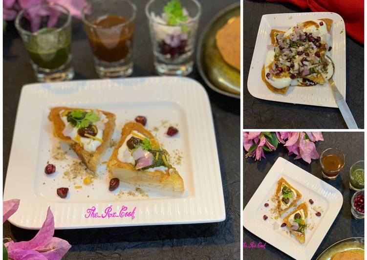 Top 100 Dinner Ideas Royal Besan aloo toastie chaat