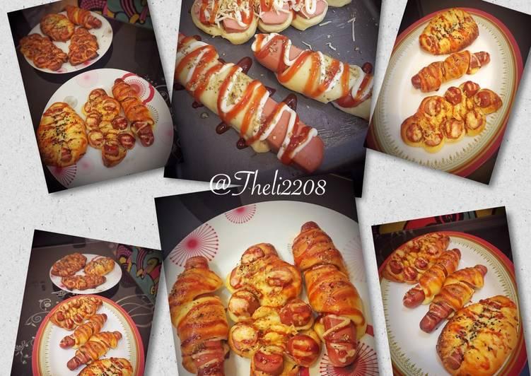 Sausage Hotdog (roti sosis)