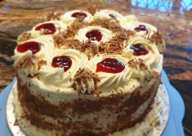 Step-by-Step Guide to Prepare Super Quick Homemade Black Forest Cake