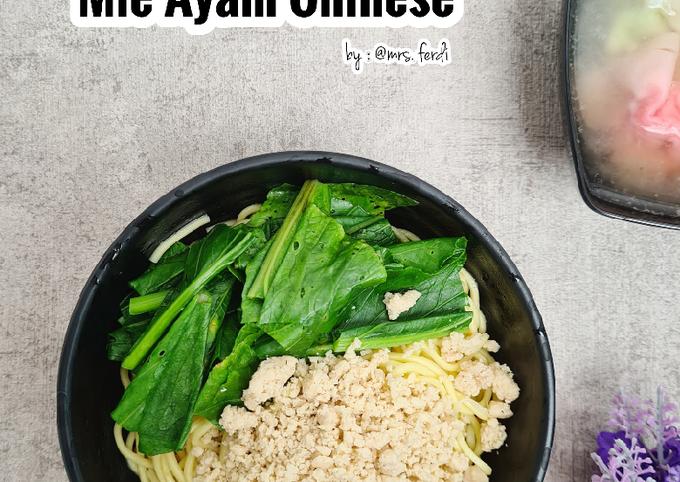 Mie Ayam Chinese dan Pangsit