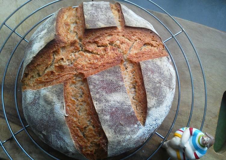 How to Prepare Quick Sourdough bread