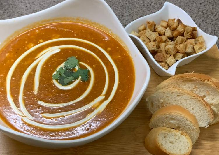 Tomato soup 🍅🍵🥖, Help Your Heart with Food