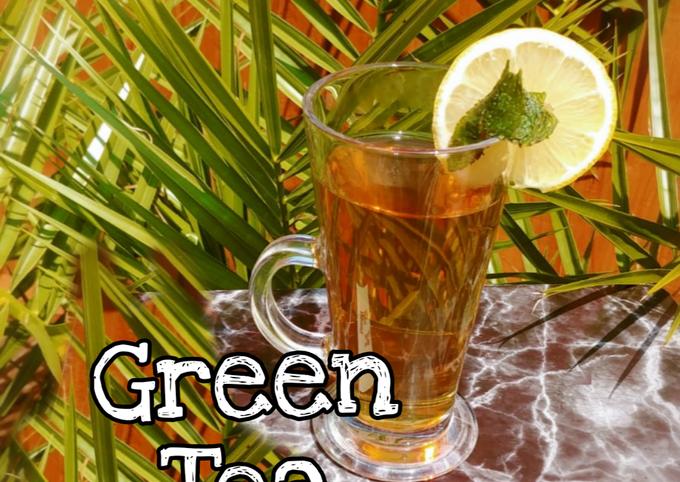 "Steps to Make Award-winning Green Tea (unoxidised tea) ""سبز چائے"""