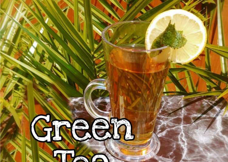 "Recipe: Yummy Green Tea (unoxidised tea) ""سبز چائے"""