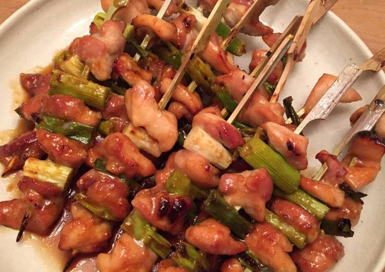 How to Prepare Yummy Yakitori 焼き鳥 Negima