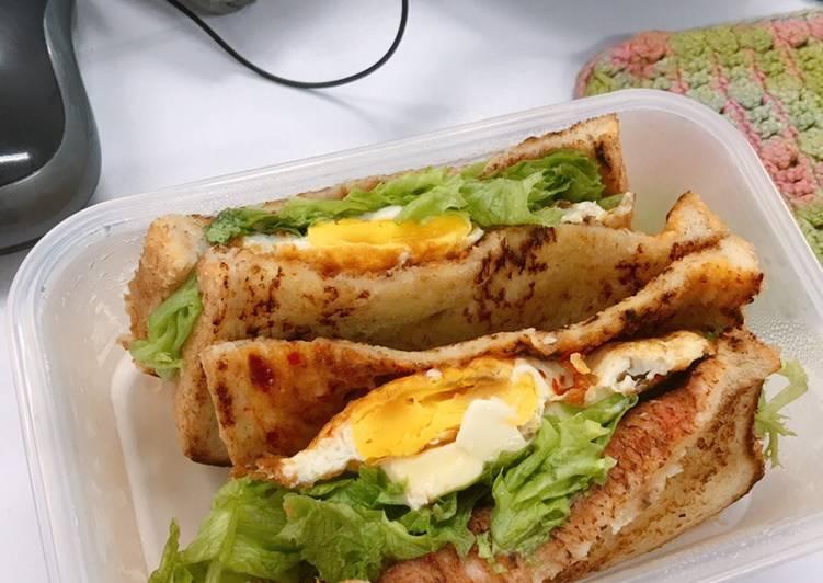 Cafe style sandwich