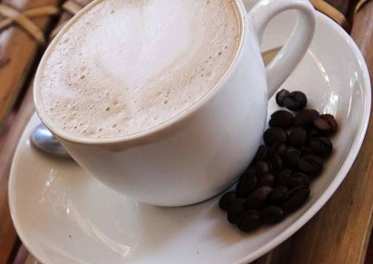 Recipe of Super Quick Homemade Chocolate coffee