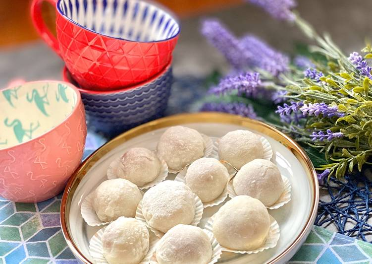 Recipe of Speedy Super soft mochi - peanut filling