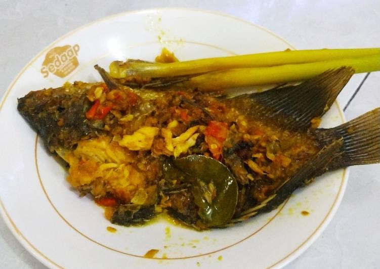 Ikan Mujair/Nila Nyatnyat khas Bali