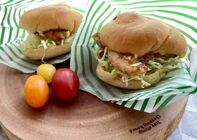 Best Teriyaki Sauce⭐︎Teriyaki Chicken Burger