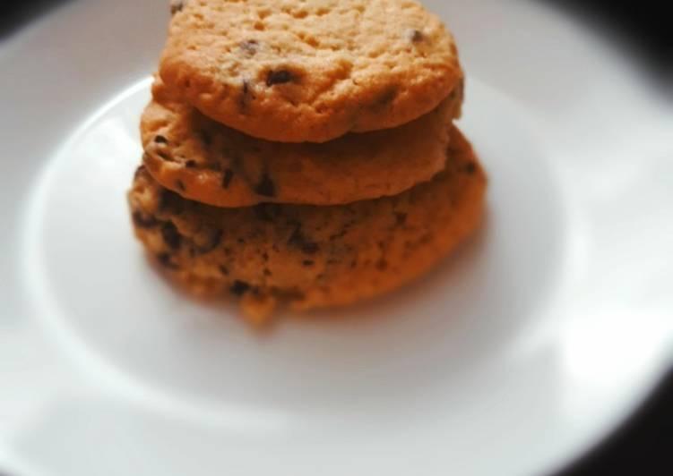 Recipe: Perfect Recette cookies Cyril Lignac légèrement modifiée