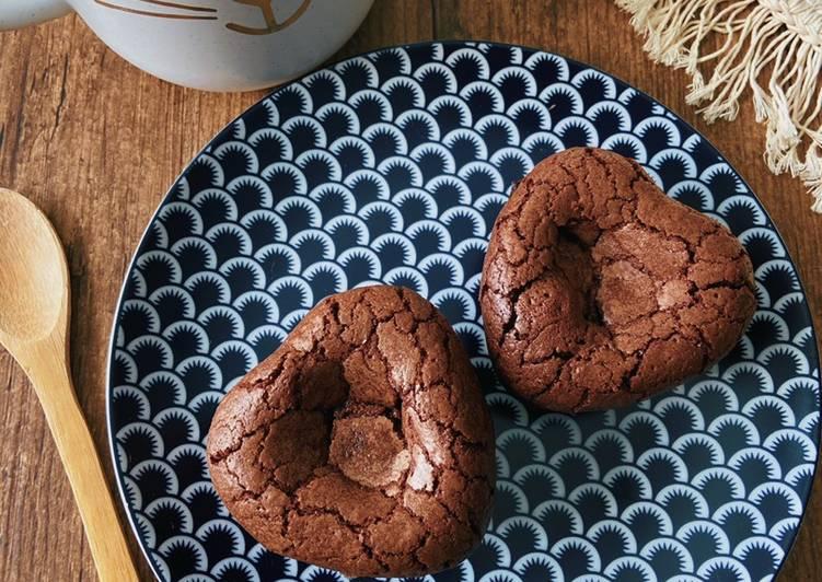 Recette: Brownie avec coeur au Nutella ❤️
