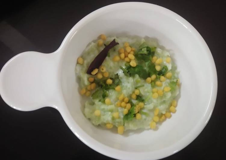 Recipe of Super Quick Homemade Cucumber boondi raita