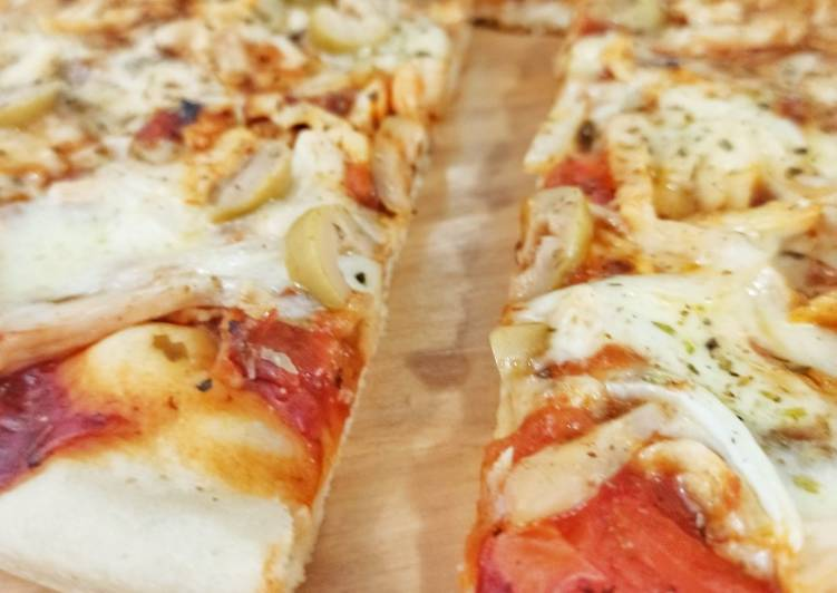 La Mejor Masa De Pizza Receta De Ros Cookpad