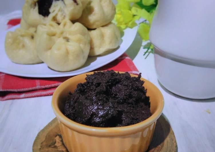 Filling Coklat ~ Lumer (Isian Pao, Roti Sobek, Roti Goreng, dll)