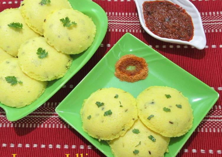 Step-by-Step Guide to Prepare Speedy Lemon Idli - Lemony inside out