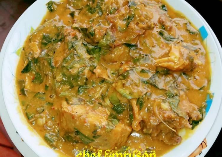 Recipe of Homemade Oha soup